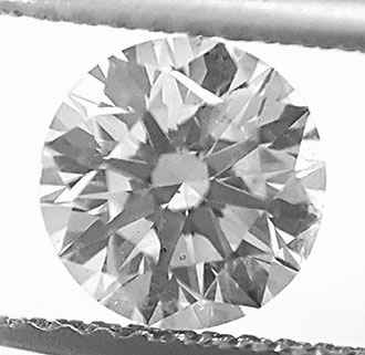 Picture of 1.03 Carats, Round Diamond with Ideal Cut, E Color, VS2 Clarity Enhanced and Certified by IGL