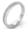 Picture of Eternity diamond band, 3mm 0.45 carat
