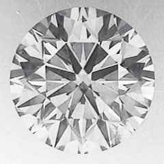Picture of 1.01 Round natural diamond E VVS1 C.E,Ideal-Cut