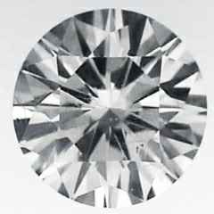 Picture of 2.09 carat Round natural diamond H SI1, Very-Good Cut
