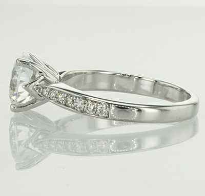 Designers prong head engagement ring