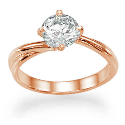 The Vortex Solitaire engagement ring