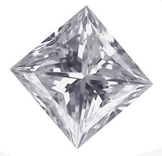Picture of 2.03 Carats, Princess Diamond with Ideal Cut with, E Color, VS2 Clarity and Certified By IGL