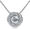 Picture of The Spinner pendant for round diamonds