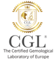 CGL  diamond's Laboratory logo