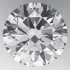 Picture of 1.01 Carats, Round Diamond with Ideal Cut, D Color, VS2 Clarity and Certified by CGL