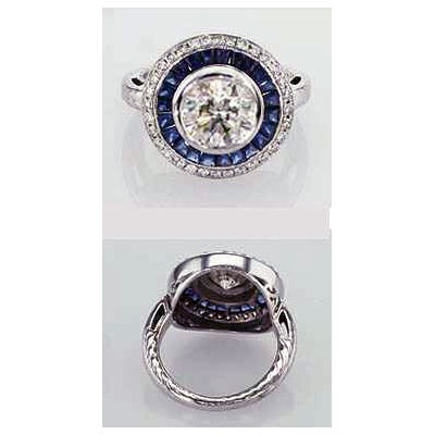 Victorian Replica Vintage Engagement ring