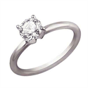 Picture of Solid tube engagement ring
