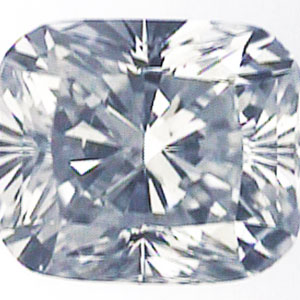 Picture of 1 Carat, Cushion Diamond with  Ideal Cut, D Color, VS2 Clarity and Certified by IGL