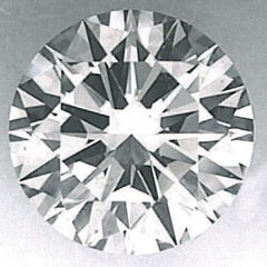 Picture of 2.02 carat Round natural diamond I VVS2, Ideal- Cut, certified by CGL