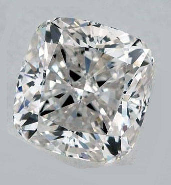 Picture of 1.25 Carat, Cushion natural Diamond with  Ideal-Cut, G Color, VS2 Clarity and Certified by CGL