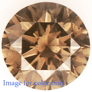 Picture of 1.00 Carat Natural Diamond Natural Intense Orangy Brown SI2, Certified By IGL.
