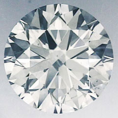 Picture of 1.28 Carats, Round Diamond with Ideal Cut,H VS2 and Certified by CGL