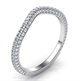 Picture of Matching wedding band for Chelsea engagement ring, 0.60 carats