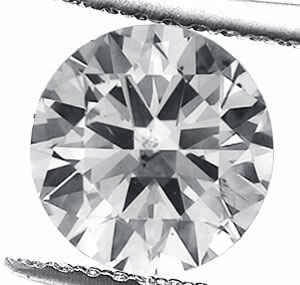 Picture of 1.52 carat Round natural diamond D SI1, Ideal Cut