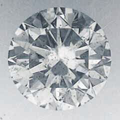 Picture of 3.73 Carats, Round Diamond with Ideal Cut, D SI2, Certified by IGL