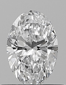 Picture of 0.55 Carats, Oval Diamond with Very Good Cut, D Color, VS1 Clarity and Certified By GIA