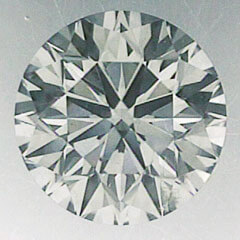 Picture of 0.71 Carats, Round natural Diamond with Ideal Cut, I Color, VS2 Clarity and Certified By CGL