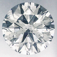 Picture of 0.62 Carats, Round Diamond with Very-Good-Cut, E Color,SI1 Clarity and Certified By CGL