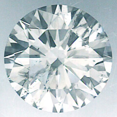 Picture of 0.74 Carats, Round Diamond with Ideal Cut, D Color, SI1 Clarity and Certified By IGL