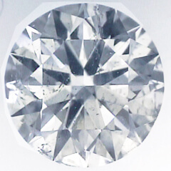 Picture of 0.73 Carats, Round Diamond with Ideal Cut, E Color, SI2 Clarity and Certified By IGL