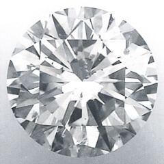 Picture of 0.7 Carats, Round Diamond with Ideal Cut, D Color, SI1 Clarity and Certified By IGL