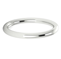 Picture of 2 mm tubular wedding band