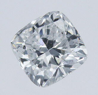 Picture of 0.33 Carats, Cushion natural diamond with Ideal Cut, F Color, VS1 Clarity and Certified By CGL