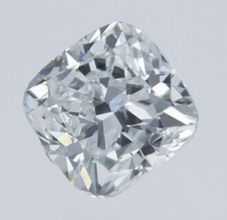 Picture of 0.31 Carats, Cushion natural diamond with Ideal Cut, G Color, SI1 Clarity and Certified By CGL