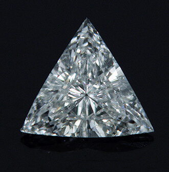 Picture of 0.15 Carats, Triangle Diamond with Very Good Cut, G Color, VS2 Clarity and Certified By CGL
