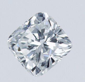 Picture of 0.35 Carats, Cushion natural diamond with Ideal Cut, F Color, VS1 Clarity and Certified By CGL