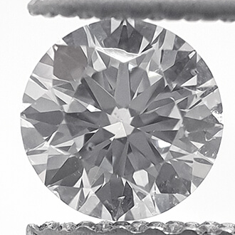 Picture of Lab Creatyed Diamond,0.45 Carats,Round Diamond,Ideal Cut,D VS1 Certified by CGL.