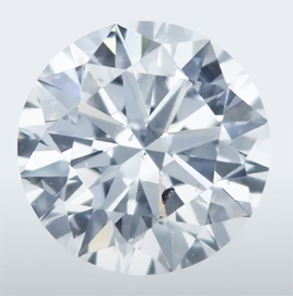 Picture of Lab Grown Diamond,0.80 Carats,Round Diamond,E VS2,Ideal Cut, Certified by CGL