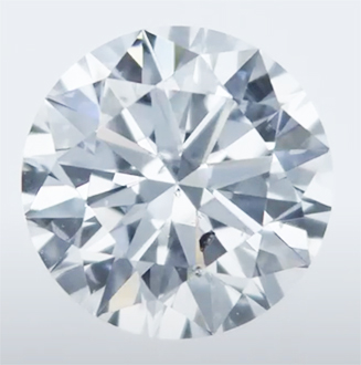 Picture of Lab Grown Diamond, 1.08 Carats, Round Diamond, D SI1 Ideal Cut.Certified by CGL