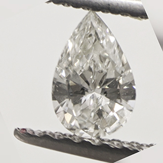 Picture of 0.24 Carats, Pear Diamond with Very Good Cut, H Color, VVS2 Clarity and Certified by CGL