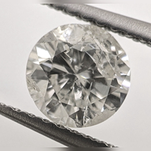 Picture of 0.82 Carats, Round Natural Diamond with Ideal Cut, G Color, SI3 Clarity and Certified By CGL