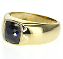 Picture of Men Signet ring mounting for larger stones 2 to 5 carats