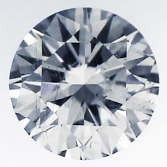 Picture of 3.20 carat Natural Round diamond, I SI1