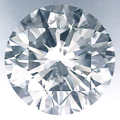 Picture of 0.90 Carats, Round Diamond with Ideal Cut, E Color, SI2 Clarity and Certified By CGL