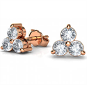 Picture of 0.60 carats diamond earring studs in White, Rose or Yellow Gold