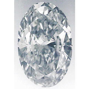 Picture of 3 Carats, Oval Diamond with Very Good Cut, F Color, SI2 Clarity and Certified By EGS/EGL