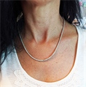 Picture of 10 carats Tennis diamond necklace