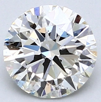 Picture of 0.71 Carats,  Round Diamond, Ideal-Cut, F VS2 Certified by CGL
