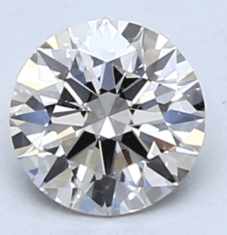 Picture of 0.41 Carats, Round Diamond with Ideal Cut, G Color, VS1 Clarity and Certified By CGL