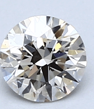 Picture of 0.40 Carats, Round Diamond with IDEAL Cut, H Color, VVS2 Clarity and Certified By CGL