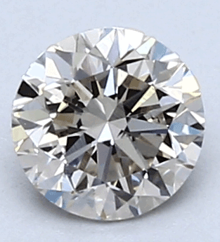 Picture of 0.43 Carats, Round Diamond with Very Good Cut, G Color, VS1 Clarity and Certified By EGL
