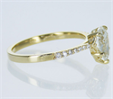 Picture of Ready to ship, 1.08 carat Pear diamond G VS2, engagement ring,  in 14k Yellow Gold