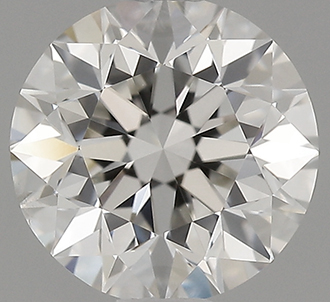Picture of Lab Grown Round diamond,1.00 carat, H VS2 Ideal-Cut, certified by IGI