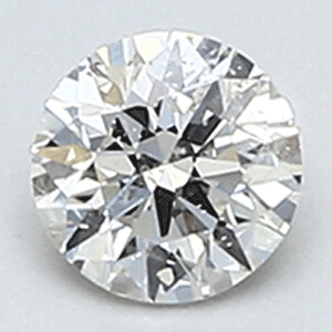 Picture of 0.28 carat, Round diamond H color SI1 Ideal-Cut
