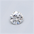 0.26 carat, Round diamond E color SI1, Very Good Cut and certified by EGS/EGL, Stock 1505134